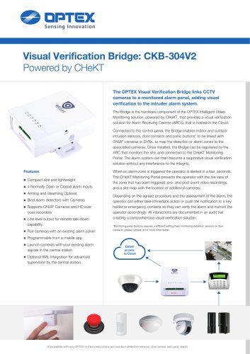 Visual Verification Bridge: CKB-304V2