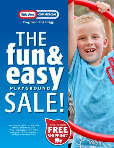FUN & EASY PLAYGROUND SALE