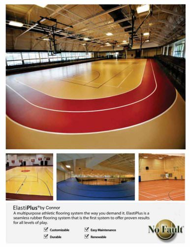 Basketball CourtS:synthetic Court Systems,ElastiPlus