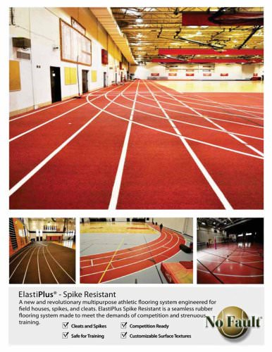 Basketball CourtS:synthetic Court Systems,ElastiPlus Spike Resistant