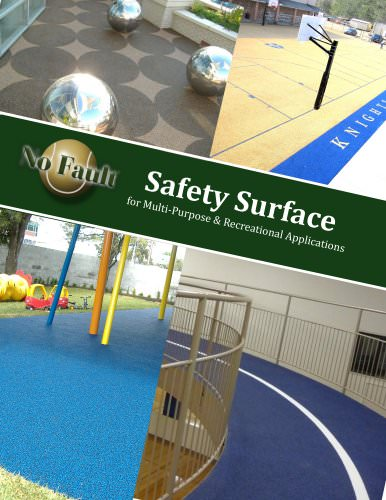 Safety Surface for Multi-Purpose & Recreational Applications