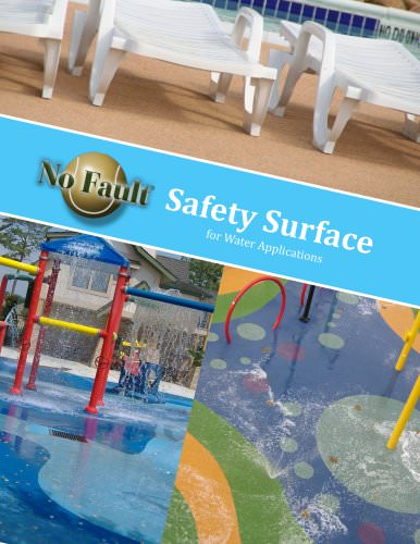 Safety Surface for Water Applications