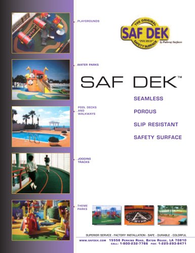 SefDek Brochure