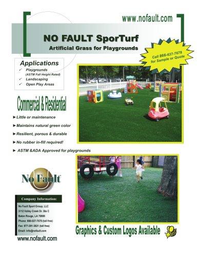 SporTurf Safety Surface