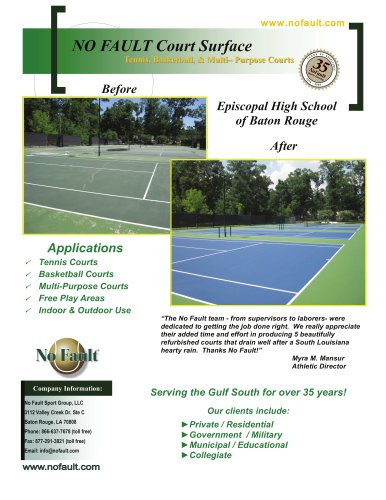 Tennis Court Construction & Surfacing