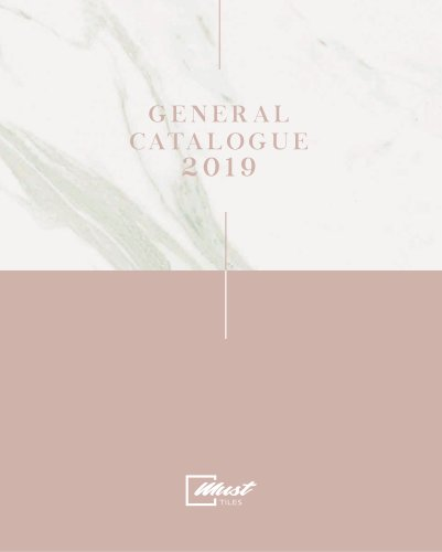 Must catalogue 2019