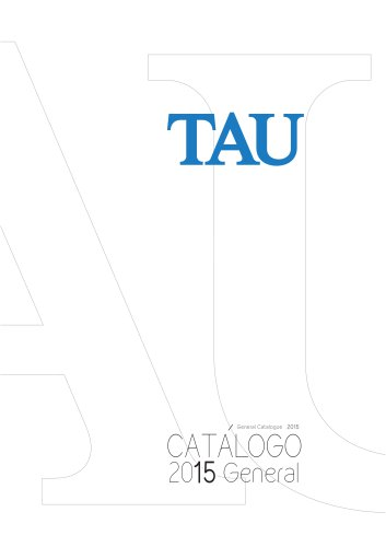 TAU Catalogo General 2015