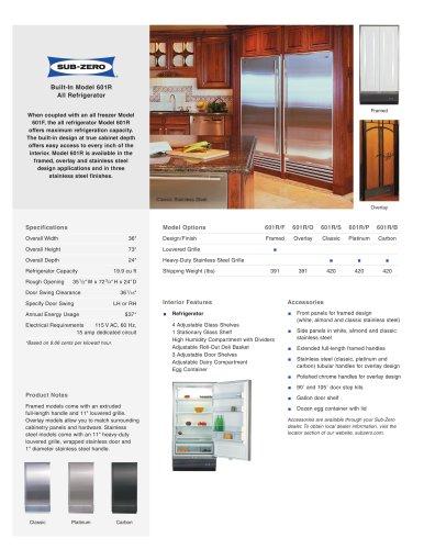 601R All Refrigerator