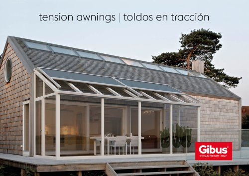 Tension Awnings Catalogue