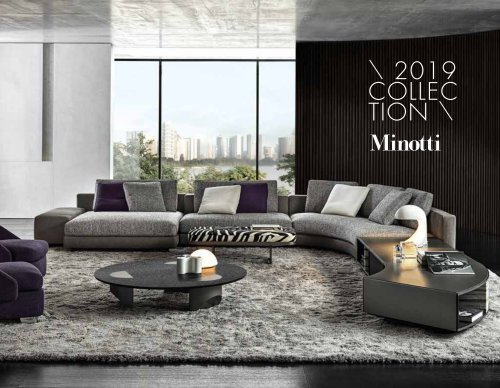 Collection Minotti 2019