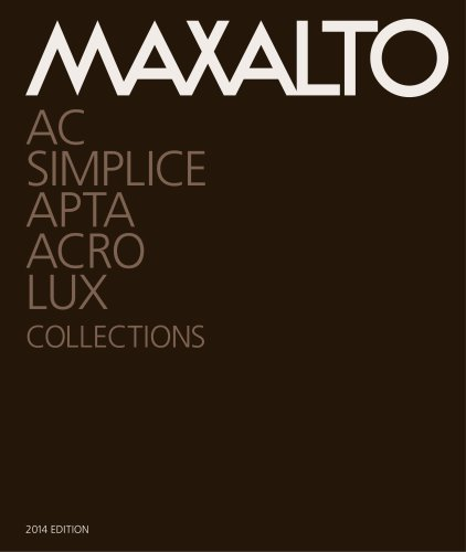 Maxalto Collection 2014