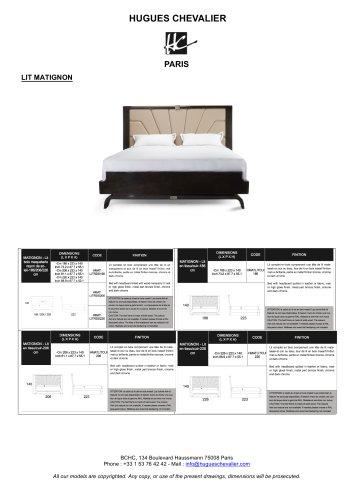MATIGNON BED