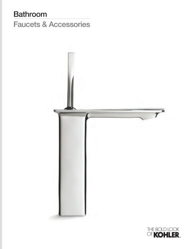 Bathroom Faucets and Accessories Line Book