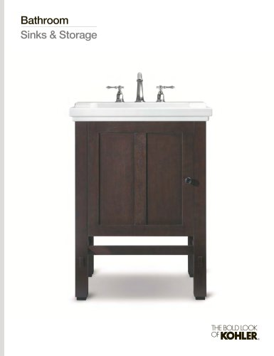 Bathroom Sinks & Storage Line Book