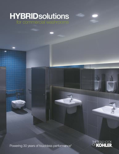 Hybrid Solutions for commercial washrooms