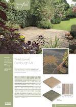 Contemporary paving Bamburgh Mill - 1