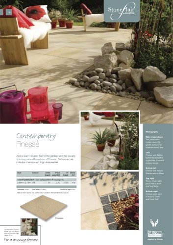 Contemporary paving Finesse