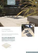 Contemporary paving Natural Travertine - 1