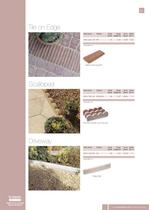 Edgings Tile on Edge / Scalloped / Driveway - 1