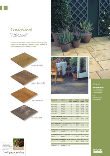 Traditional paving Yorkvale