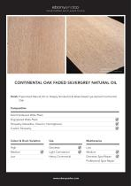 CONTINENTAL OAK FADED SILVERGREY NATURAL OIL
