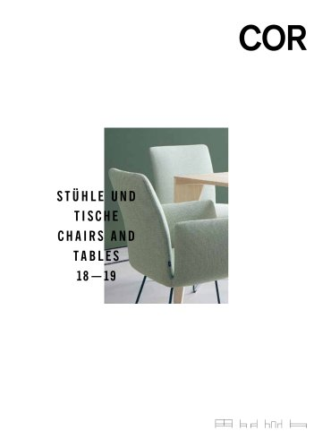 COR: CHAIRS AND TABLES 2018/2019