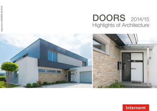Brochure DOORS 2014/2015