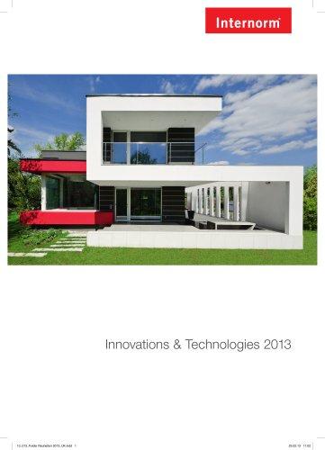 Innovations & Technologies 2013