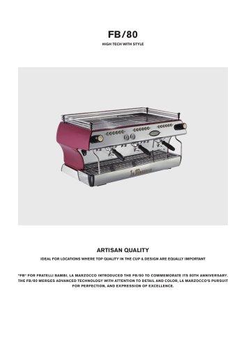 FB/80- High tech with style - LA MARZOCCO - PDF Catalogs