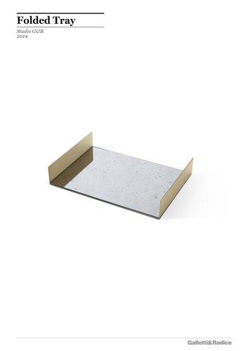Folded Tray
