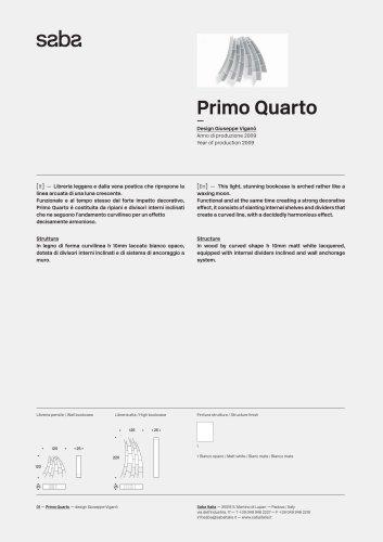 Saba_PrimoQuarto