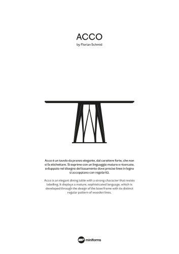ACCO by Florian Schmid