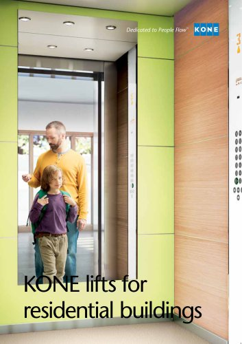 KONE lifts for residential buildings - KONE - PDF Catalogs