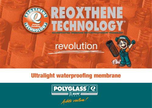 Ultralight waterproofing membrane