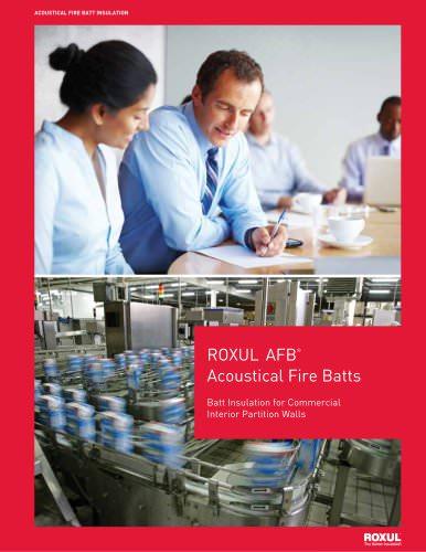 ROXUL AFB ® Acoustical Fire Batts