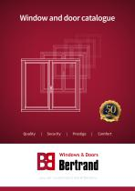Window and door catalogue