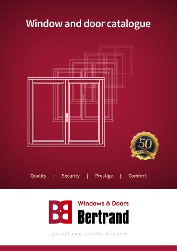 Window and door catalogue