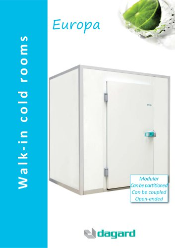 Europa walk-in cold room