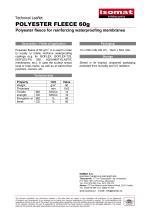 Technical Datasheet POLYESTER FLEECE