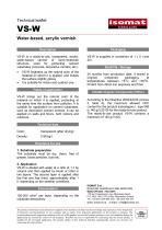 Technical Datasheet VS-W