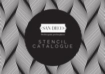 SAN DECO STENCIL CATALOGUE