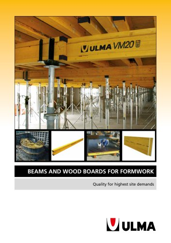 BEAMS and WOOD BOARDS