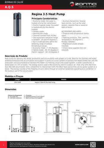 Regina 3.5 Heat Pump