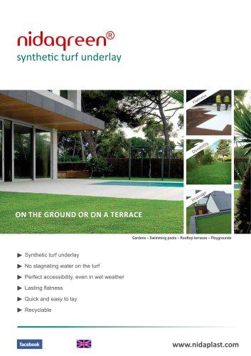NIDAGREEN artificial turf underlay