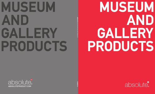 Absolute Museum & Gallery Products