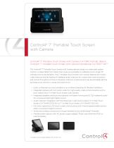 7? Portable Touch Screen  with Camera