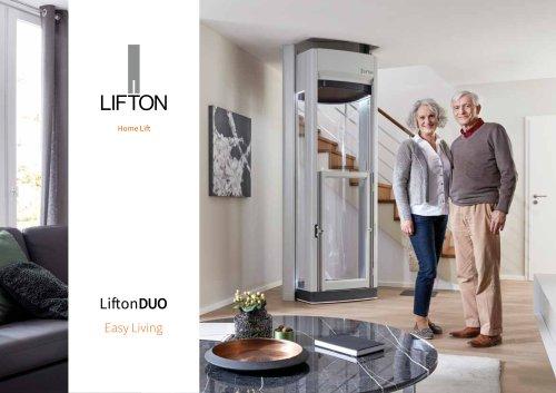 Lifton Home Lifts brochure