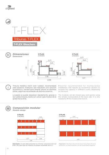 T-Flex bleachers