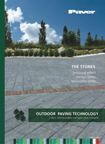 PAVER - THE STONES