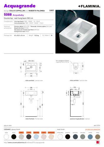 Acquagrande | Technical details